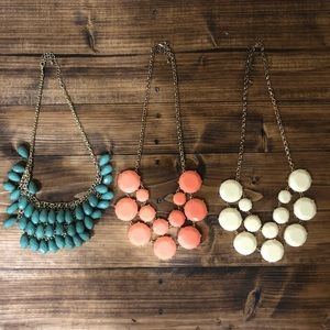 Lot of 3 Necklaces Costume Jewelry